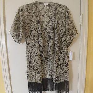 NWT LuLaRoe Monroe Kimono Swimsuit Cover-up S